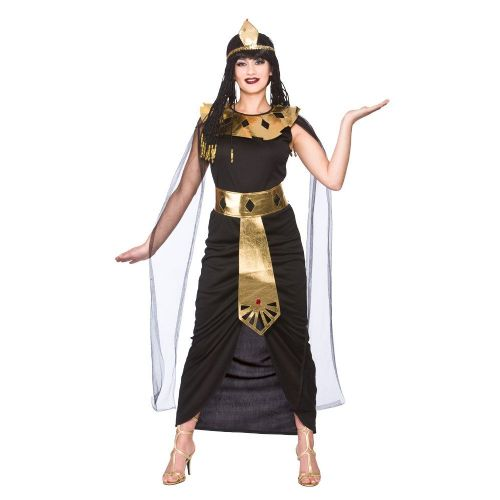 Ladies Charming Cleopatra Costume for Prince Fairytale Superhero Fancy Dress